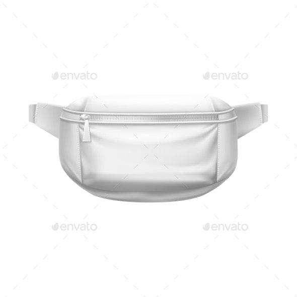 Waist Bag, Fashion Belt Pouch, Sport Fanny Pack 3D - Man-made Objects Objects