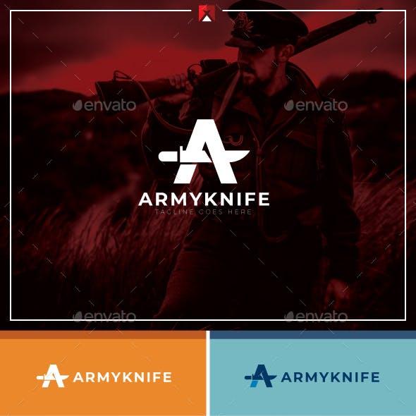 Army Knife Logo
