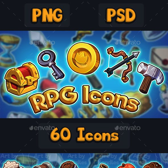 RPG Icons Set