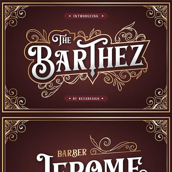 Barthez - Serif Font
