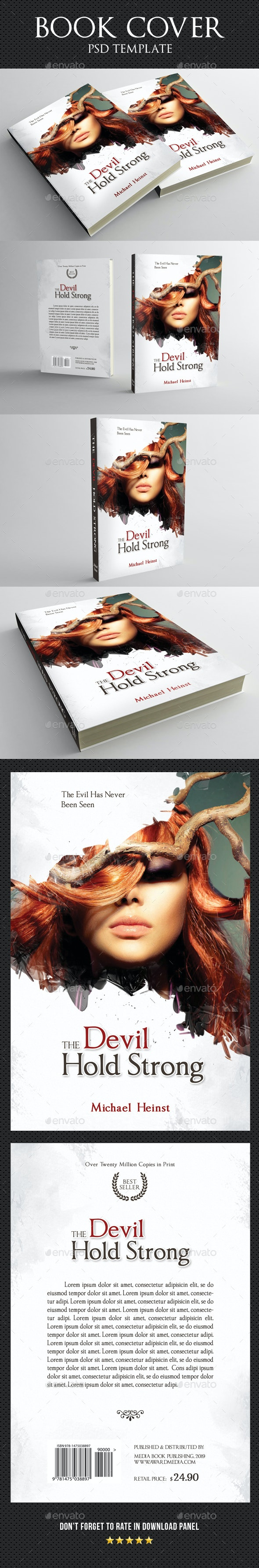 Book Cover Template 62 - Miscellaneous Print Templates