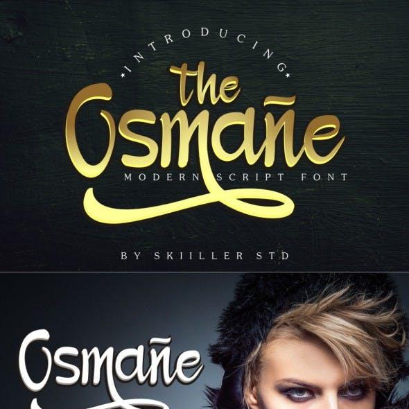 Osmane - Script Font