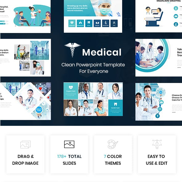 Medical - Healthcare Powerpoint Template