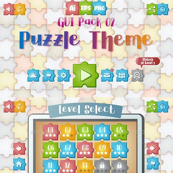 Puzzle Theme GUI Pack 2
