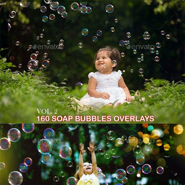 160 Soap Bubbles Overlays