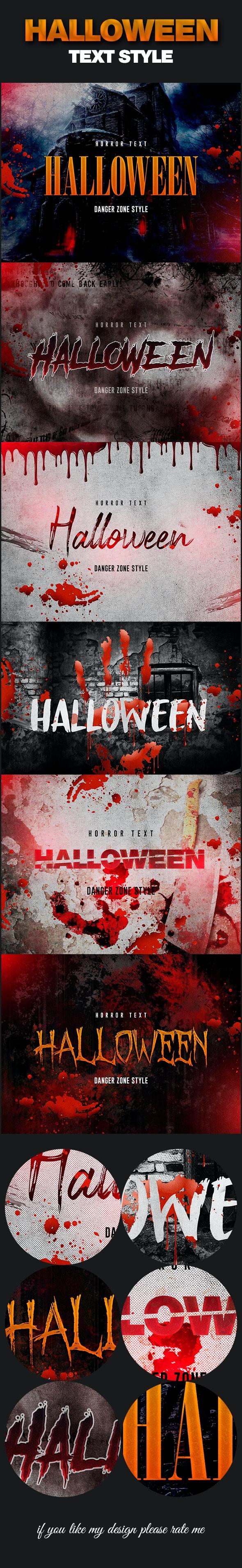 Halloween Horror Text Effect - Text Effects Styles