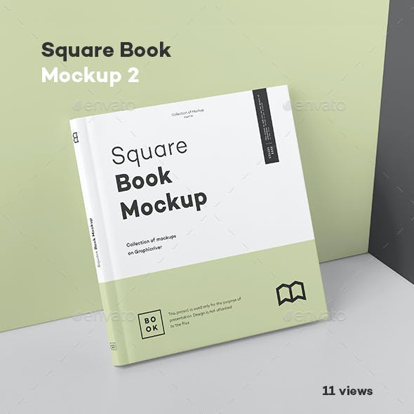 Square Book Mock up 2