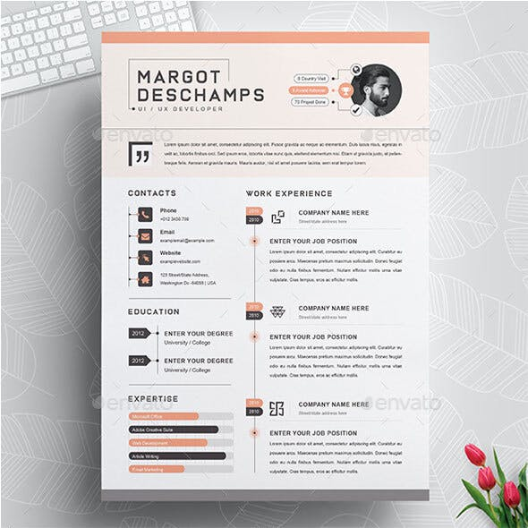 Infographic Resume Templates from GraphicRiver
