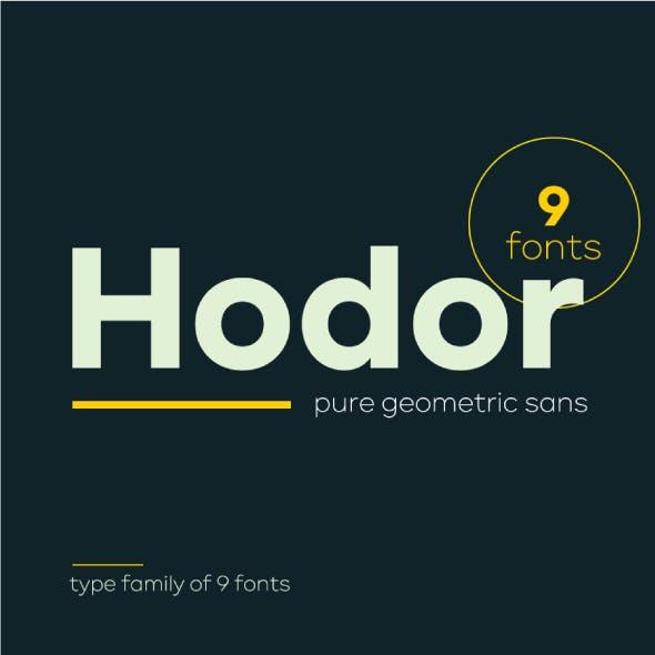 Hodor Sans Serif Font