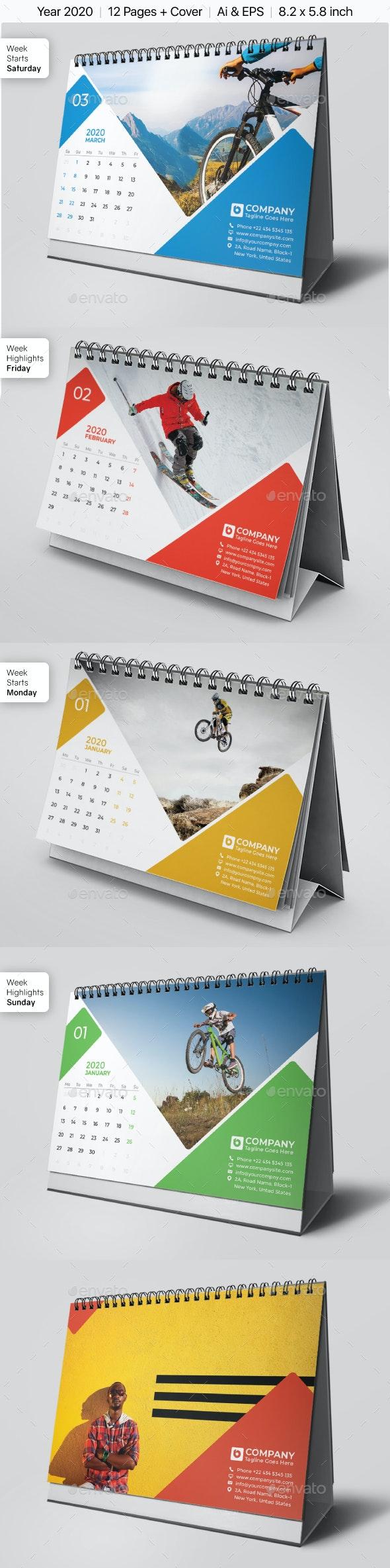 Calendar 2020 - Calendars Stationery
