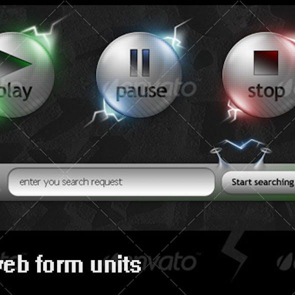 Alien style web units