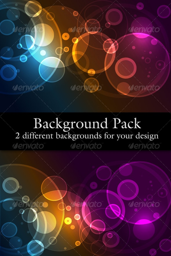 Website Background Pack With Circles - Backgrounds Decorative