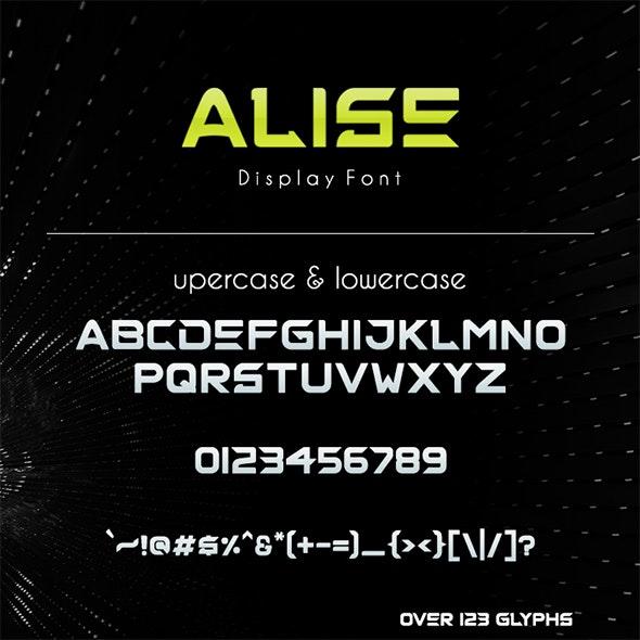 ALISE Font - Sans-Serif Fonts