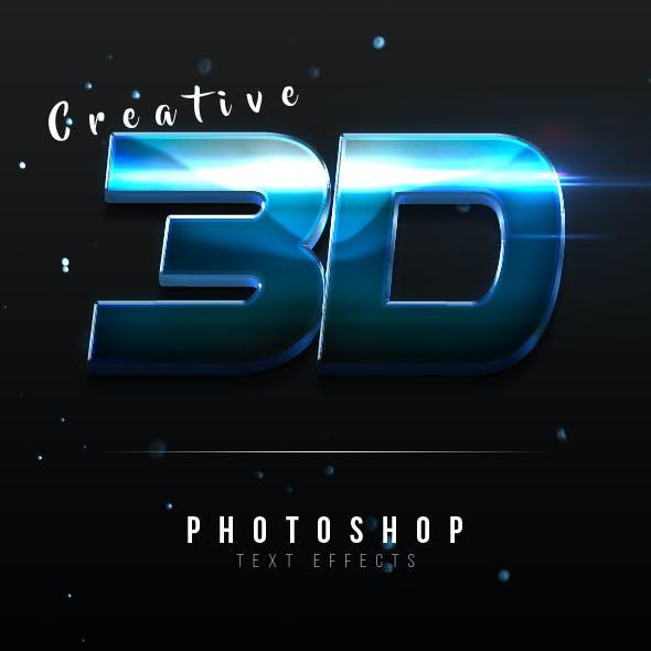 Creative 3D Text Effects Vol.4