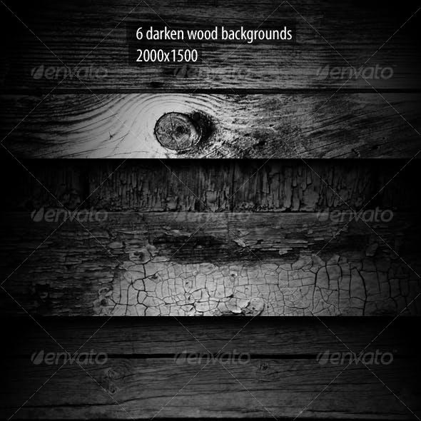 6 Darken Wood Backgrounds