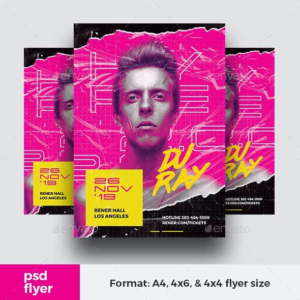 Hype DJ Flyer