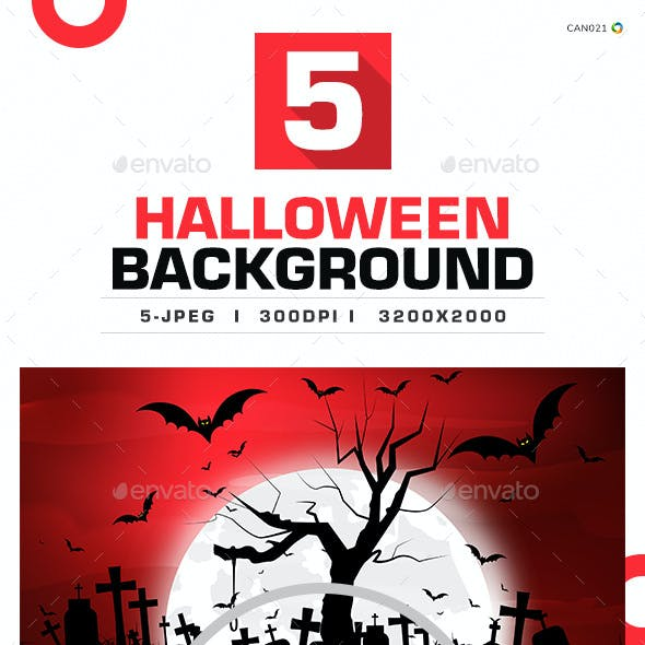 Halloween Background - 05 Designs