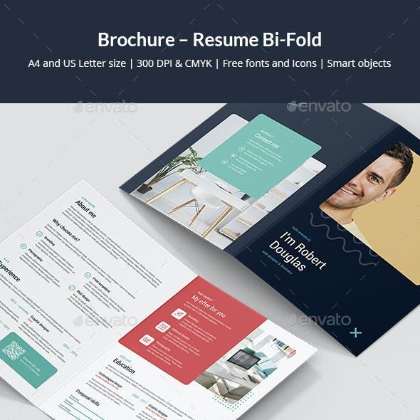 Brochure – Resume Bi-Fold