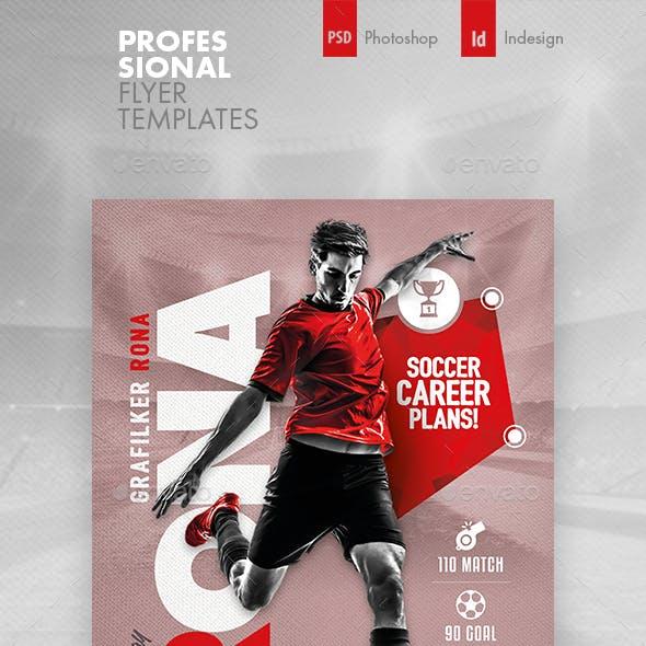 Soccer Career Flyer Templates