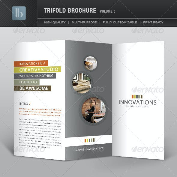Trifold Brochure | Volume 5