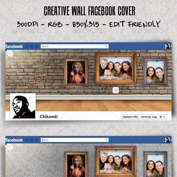 Creative Wall Facebook Cover