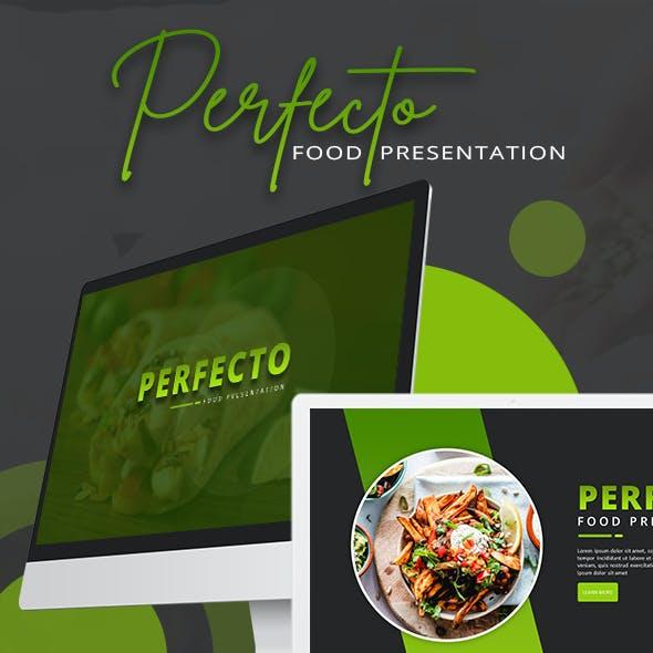 Perfecto Food Presentation Template