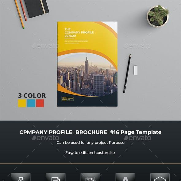 Business Profile Brochure Template