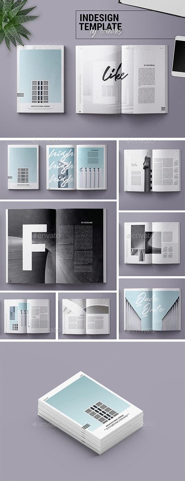 Magazine Template | Genius - Print Templates