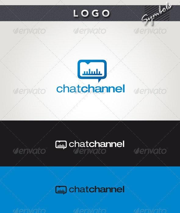Chat Channel Logo - Symbols Logo Templates