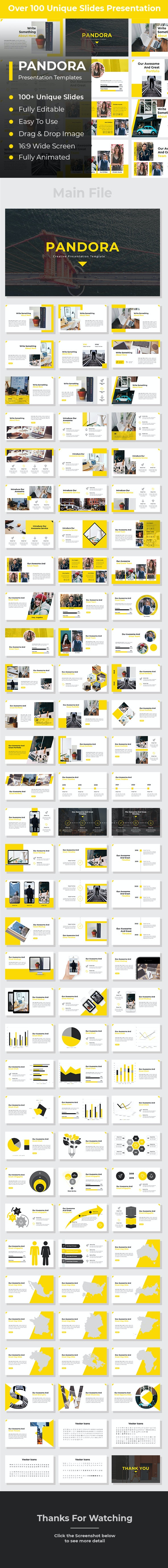 Pandora Creative PowerPoint - Creative PowerPoint Templates
