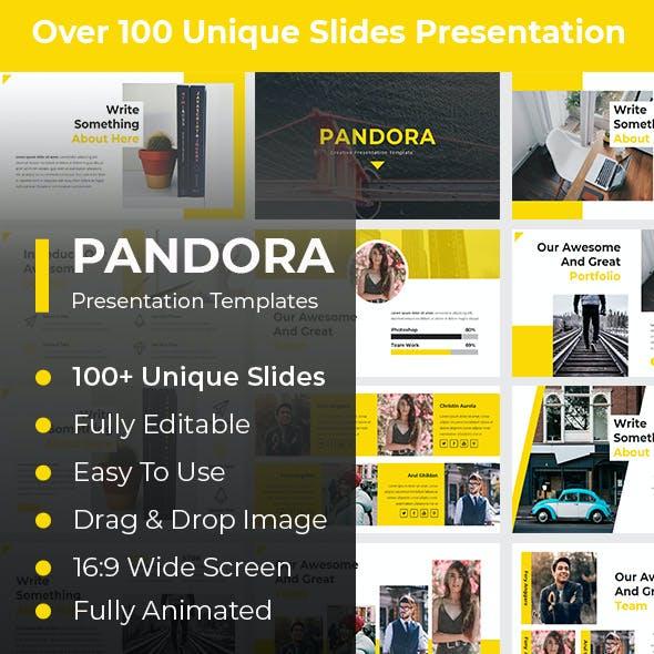 Pandora Creative Google Slides