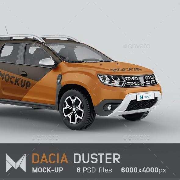 Dacia Duster Car Mockup