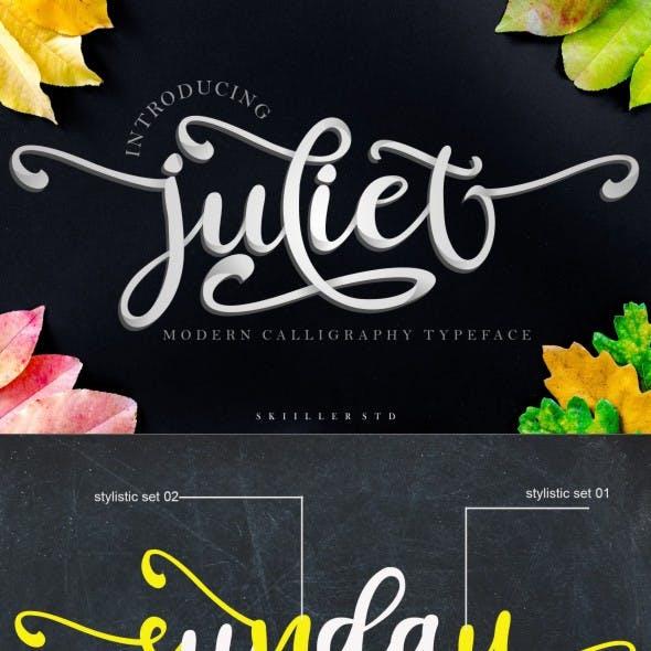 Juliet - Script Font