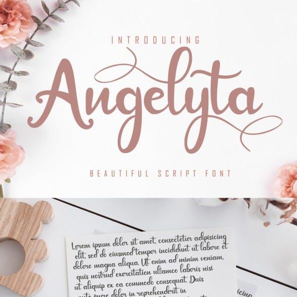 Angelyta - Modern Script