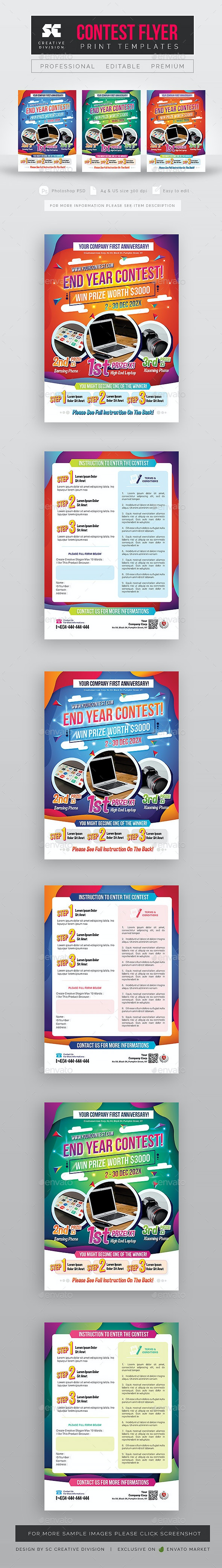 Contest Flyer - Commerce Flyers