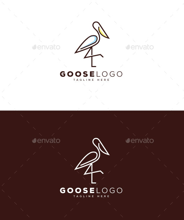 Goose Logo - Animals Logo Templates