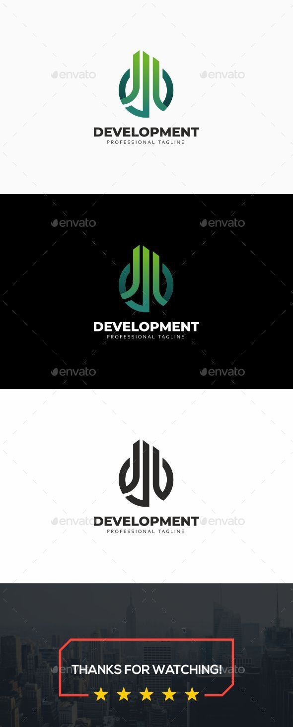 Development Logo - Buildings Logo Templates