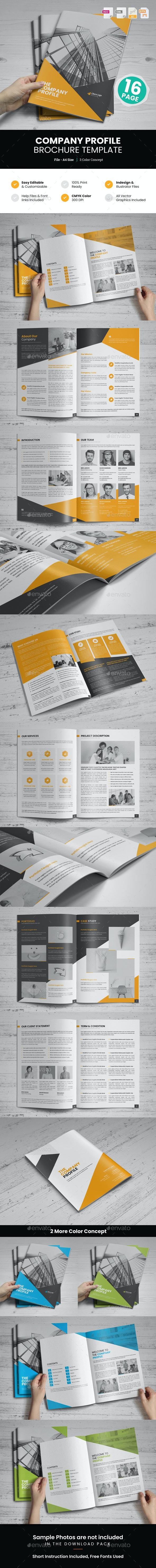 Company Profile Brochure Design v8 - Corporate Brochures