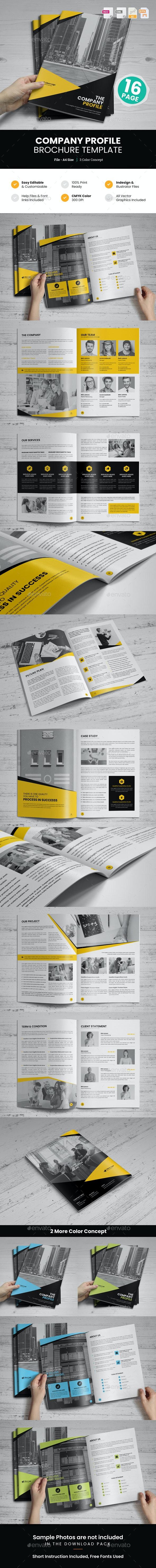 Company Profile Brochure Design v9 - Corporate Brochures