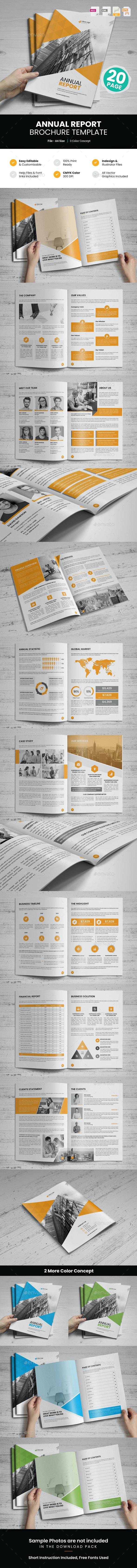 Annual Report Design v5 - Corporate Brochures