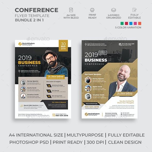 Conference Flyer Bundle 02