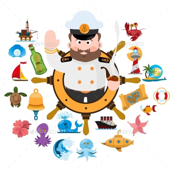 Welcome Aboard - Animals Characters