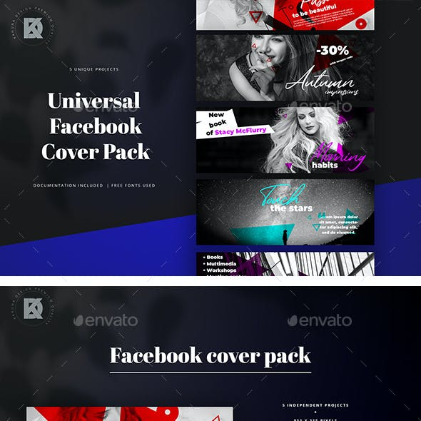 Facebook Cover Banners Pack