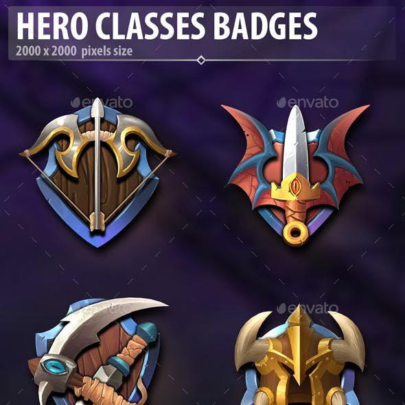 Hero Classes Badges