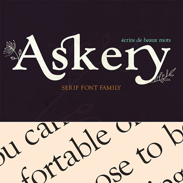 Askery Font Family