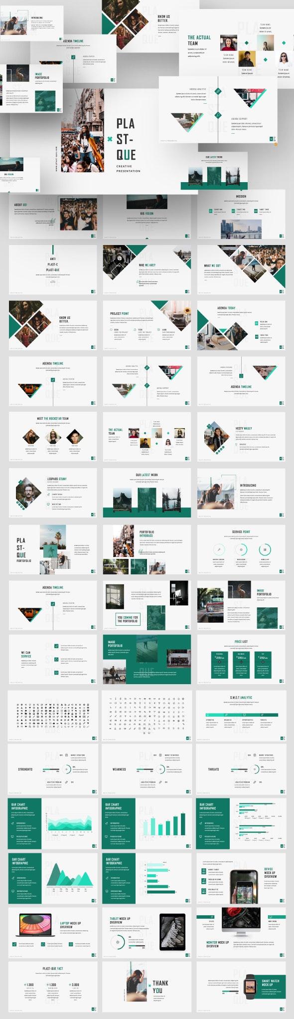 Plastique Creative Business Keynote - Business Keynote Templates