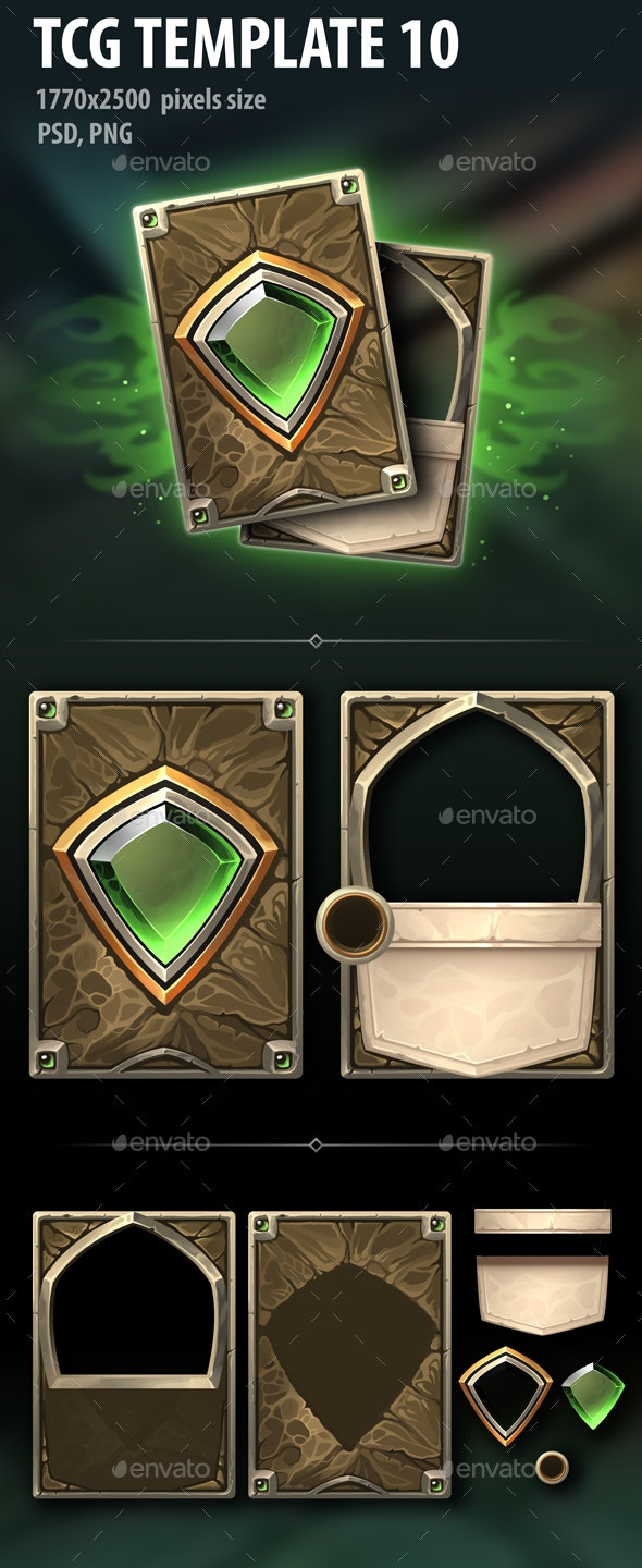 TCG Template 10 - Miscellaneous Game Assets