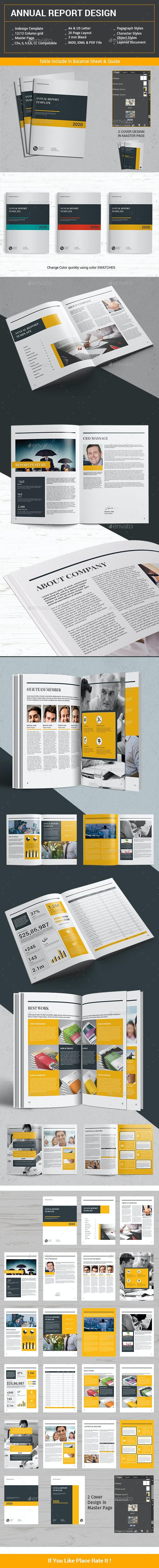 Annual Report Design - Informational Brochures