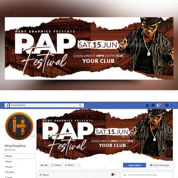 Rap Festival Facebook Timeline