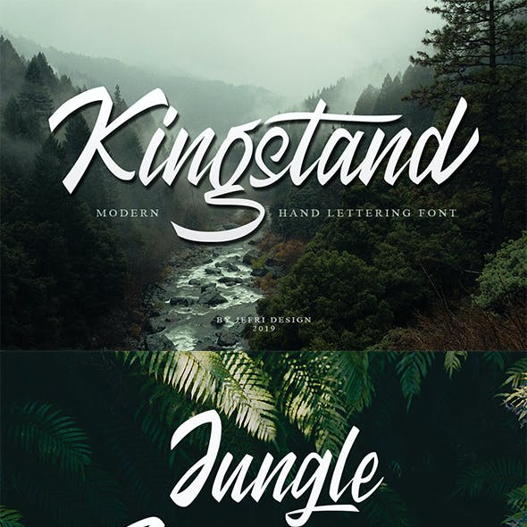 Kingstand Script